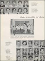 1956 Thomas Jefferson High School Yearbook Page 112 & 113