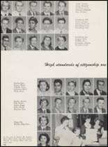 1956 Thomas Jefferson High School Yearbook Page 132 & 133