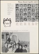 1956 Thomas Jefferson High School Yearbook Page 156 & 157