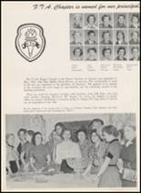 1956 Thomas Jefferson High School Yearbook Page 166 & 167