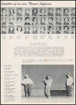 1956 Thomas Jefferson High School Yearbook Page 202 & 203