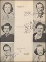 1952 Jacksboro High School Yearbook Page 14 & 15