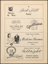 1952 Jacksboro High School Yearbook Page 108 & 109