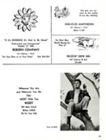 1965 Greenville High School Yearbook Page 156 & 157