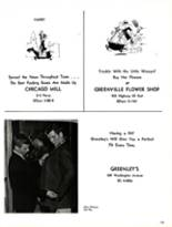 1965 Greenville High School Yearbook Page 172 & 173