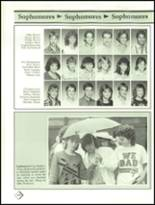 1987 Lawrence High School Yearbook Page 154 & 155
