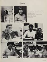1981 Beaufort High School Yearbook Page 110 & 111