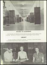 1957 Pampa High School Yearbook Page 14 & 15