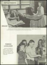 1957 Pampa High School Yearbook Page 16 & 17