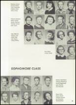 1957 Pampa High School Yearbook Page 28 & 29