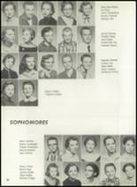 1957 Pampa High School Yearbook Page 32 & 33