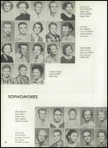 1957 Pampa High School Yearbook Page 34 & 35