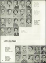 1957 Pampa High School Yearbook Page 36 & 37