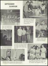 1957 Pampa High School Yearbook Page 40 & 41