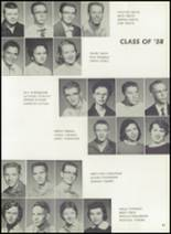 1957 Pampa High School Yearbook Page 100 & 101