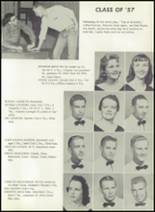1957 Pampa High School Yearbook Page 166 & 167
