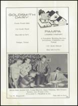 1957 Pampa High School Yearbook Page 208 & 209