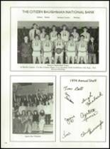 1974 Fairlawn High School Yearbook Page 152 & 153