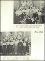1951 Theodore Roosevelt High School Yearbook Page 22 & 23
