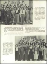 1951 Theodore Roosevelt High School Yearbook Page 42 & 43