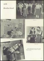 1951 Theodore Roosevelt High School Yearbook Page 56 & 57