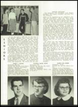 1959 Churubusco High School Yearbook Page 20 & 21