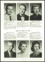 1959 Churubusco High School Yearbook Page 22 & 23
