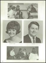 1968 Monticello High School Yearbook Page 24 & 25