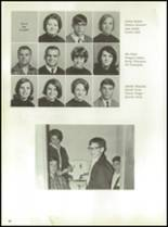 1968 Monticello High School Yearbook Page 34 & 35