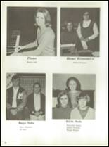 1968 Monticello High School Yearbook Page 70 & 71