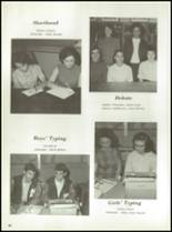 1968 Monticello High School Yearbook Page 72 & 73