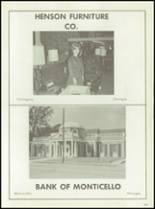 1968 Monticello High School Yearbook Page 144 & 145