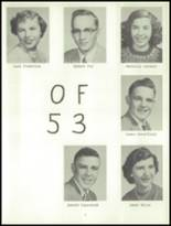 1953 York High School Yearbook Page 10 & 11