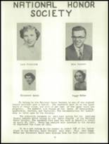 1953 York High School Yearbook Page 18 & 19