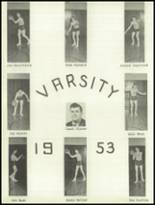 1953 York High School Yearbook Page 42 & 43