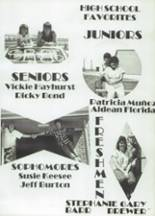 1986 Eula High School Yearbook Page 20 & 21