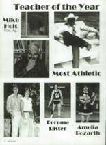 1986 Eula High School Yearbook Page 28 & 29