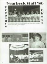 1986 Eula High School Yearbook Page 56 & 57