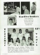 1986 Eula High School Yearbook Page 110 & 111