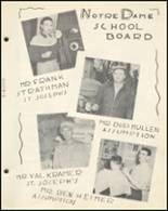 1954 Notre Dame High School Yearbook Page 14 & 15