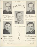 1954 Notre Dame High School Yearbook Page 16 & 17