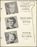 1954 Notre Dame High School Yearbook Page 30 & 31