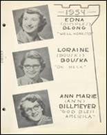 1954 Notre Dame High School Yearbook Page 32 & 33