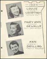 1954 Notre Dame High School Yearbook Page 34 & 35