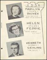 1954 Notre Dame High School Yearbook Page 36 & 37