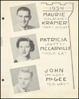 1954 Notre Dame High School Yearbook Page 38 & 39