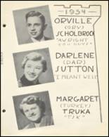 1954 Notre Dame High School Yearbook Page 44 & 45