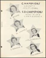 1954 Notre Dame High School Yearbook Page 94 & 95