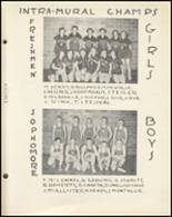 1954 Notre Dame High School Yearbook Page 108 & 109