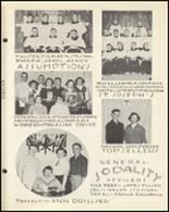 1954 Notre Dame High School Yearbook Page 114 & 115